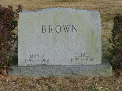 BROWN, OLIVER - Suffolk County, New York | OLIVER BROWN - New York Gravestone Photos