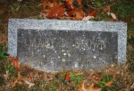 BROWN, MARY M - Suffolk County, New York | MARY M BROWN - New York Gravestone Photos