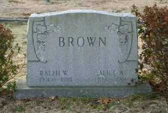 BROWN, ALICE A - Suffolk County, New York | ALICE A BROWN - New York Gravestone Photos