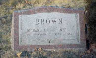 BROWN, RICHARD A. - Suffolk County, New York | RICHARD A. BROWN - New York Gravestone Photos