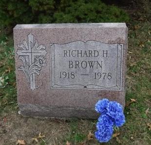 BROWN, RICHARD H - Suffolk County, New York | RICHARD H BROWN - New York Gravestone Photos