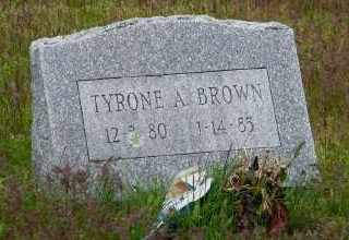 BROWN, TYRONE A - Suffolk County, New York | TYRONE A BROWN - New York Gravestone Photos