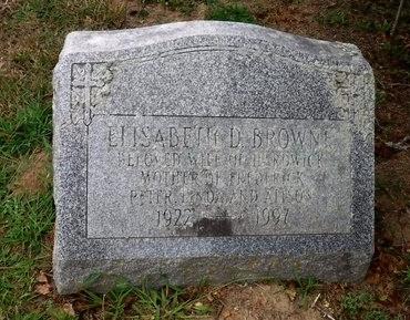 BROWNE, ELISABETH D - Suffolk County, New York | ELISABETH D BROWNE - New York Gravestone Photos