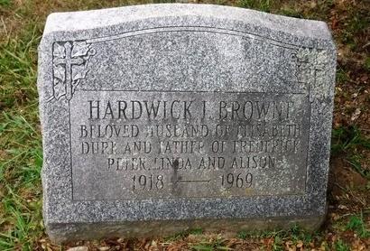 BROWNE, HARDWICK J - Suffolk County, New York | HARDWICK J BROWNE - New York Gravestone Photos