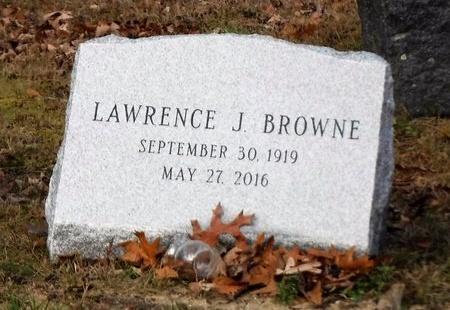 BROWNE, LAWRENCE J - Suffolk County, New York | LAWRENCE J BROWNE - New York Gravestone Photos