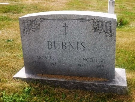 BUBNIS, ANNA K - Suffolk County, New York | ANNA K BUBNIS - New York Gravestone Photos