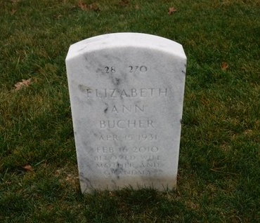 BUCHER, ELIZABETH ANN - Suffolk County, New York | ELIZABETH ANN BUCHER - New York Gravestone Photos