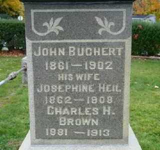 HEIL BUCHERT, JOSEPHINE - Suffolk County, New York | JOSEPHINE HEIL BUCHERT - New York Gravestone Photos