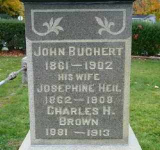 BUCHERT, JOSEPHINE - Suffolk County, New York | JOSEPHINE BUCHERT - New York Gravestone Photos