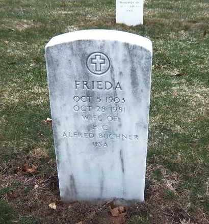BUCHNER, FRIEDA - Suffolk County, New York | FRIEDA BUCHNER - New York Gravestone Photos