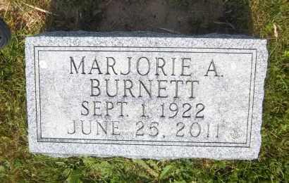 BURNETT, MARJORIE A. - Suffolk County, New York | MARJORIE A. BURNETT - New York Gravestone Photos