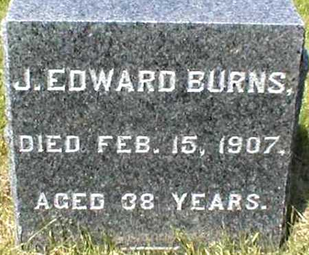 BURNS, J. EDWARD - Suffolk County, New York | J. EDWARD BURNS - New York Gravestone Photos