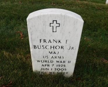 BUSCHOR (WWII), FRANK E, JR - Suffolk County, New York | FRANK E, JR BUSCHOR (WWII) - New York Gravestone Photos