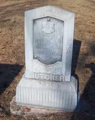 BUTCHER, JESSIE B.S. - Suffolk County, New York   JESSIE B.S. BUTCHER - New York Gravestone Photos