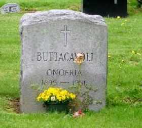 BUTTACAVOLI, ONOFRIA - Suffolk County, New York   ONOFRIA BUTTACAVOLI - New York Gravestone Photos