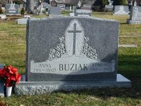 BUZIAK, ANNA - Suffolk County, New York   ANNA BUZIAK - New York Gravestone Photos