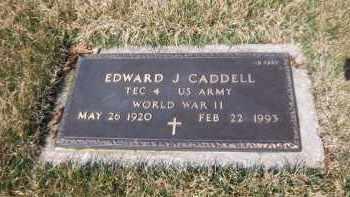 CADDELL (WWII), EDWARD J - Suffolk County, New York   EDWARD J CADDELL (WWII) - New York Gravestone Photos
