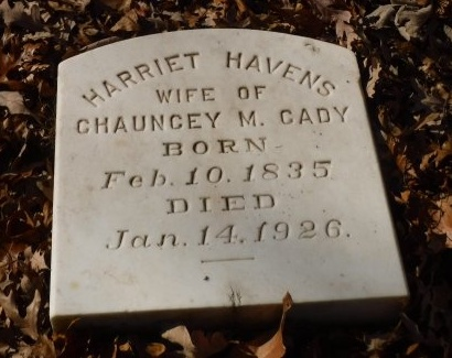 CADY, HARRIET - Suffolk County, New York | HARRIET CADY - New York Gravestone Photos