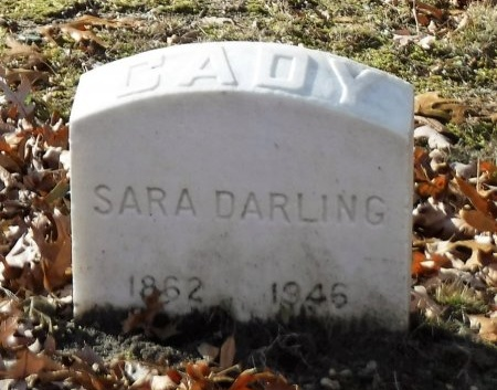 DARLING CADY, SARA - Suffolk County, New York | SARA DARLING CADY - New York Gravestone Photos