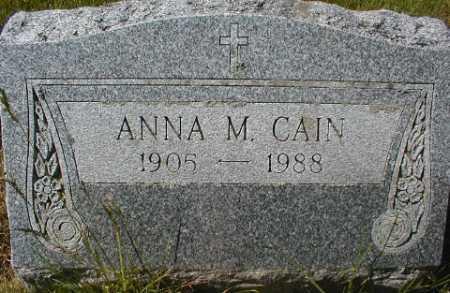 CAIN, ANNA M. - Suffolk County, New York | ANNA M. CAIN - New York Gravestone Photos