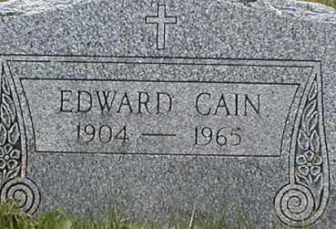 CAIN, EDWARD - Suffolk County, New York   EDWARD CAIN - New York Gravestone Photos