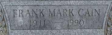 CAIN, FRANK MARK - Suffolk County, New York | FRANK MARK CAIN - New York Gravestone Photos