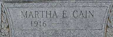 CAIN, MARTHA E. - Suffolk County, New York | MARTHA E. CAIN - New York Gravestone Photos