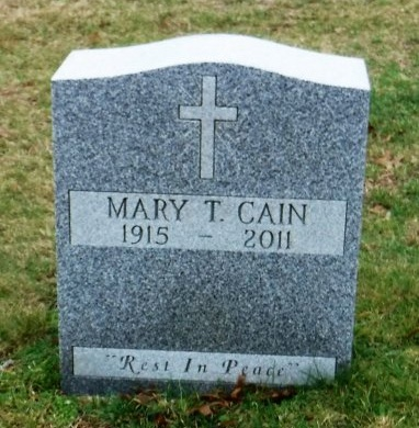 CAIN, MARY T - Suffolk County, New York | MARY T CAIN - New York Gravestone Photos