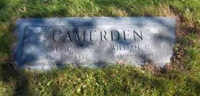 CAMERDEN, WILLIAM H. - Suffolk County, New York   WILLIAM H. CAMERDEN - New York Gravestone Photos