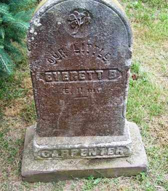 CARPENTER, EVERETT B. - Suffolk County, New York | EVERETT B. CARPENTER - New York Gravestone Photos