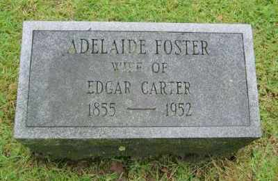 FOSTER CARTER, ADELAIDE JANE - Suffolk County, New York | ADELAIDE JANE FOSTER CARTER - New York Gravestone Photos
