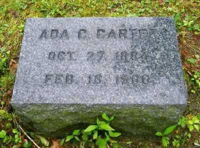 CARTER, ADA C - Suffolk County, New York   ADA C CARTER - New York Gravestone Photos