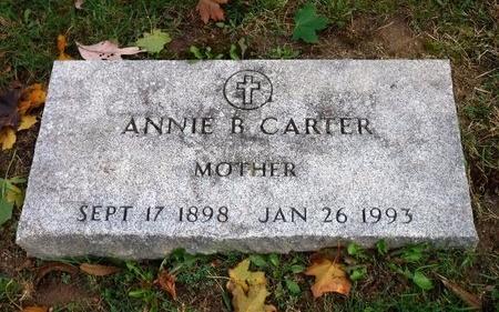 CARTER, ANNIE B - Suffolk County, New York   ANNIE B CARTER - New York Gravestone Photos