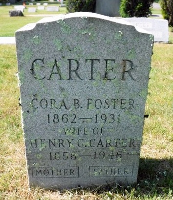 CARTER, HENRY G - Suffolk County, New York | HENRY G CARTER - New York Gravestone Photos