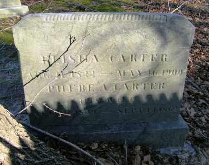 CARTER, ELISHA - Suffolk County, New York | ELISHA CARTER - New York Gravestone Photos