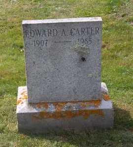 CARTER, EDWARD A - Suffolk County, New York | EDWARD A CARTER - New York Gravestone Photos