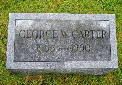 CARTER, GEORGE W - Suffolk County, New York | GEORGE W CARTER - New York Gravestone Photos