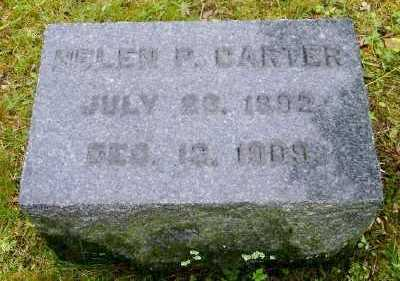 CARTER, HELEN P - Suffolk County, New York | HELEN P CARTER - New York Gravestone Photos