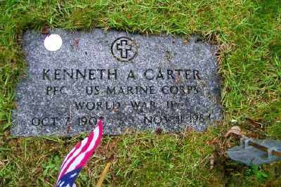 CARTER, KENNETH A - Suffolk County, New York | KENNETH A CARTER - New York Gravestone Photos