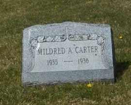 CARTER, MILDRED A. - Suffolk County, New York | MILDRED A. CARTER - New York Gravestone Photos