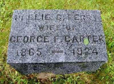 CARTER, NELLIE G - Suffolk County, New York | NELLIE G CARTER - New York Gravestone Photos