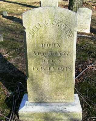 CARTER, WILLIAM - Suffolk County, New York   WILLIAM CARTER - New York Gravestone Photos