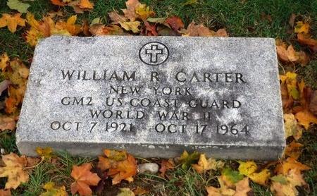 CARTER, WILLIAM R - Suffolk County, New York   WILLIAM R CARTER - New York Gravestone Photos