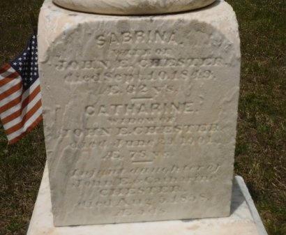 CHESTER, CATHERINE - Suffolk County, New York | CATHERINE CHESTER - New York Gravestone Photos