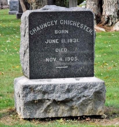 CHICHESTER, CHAUNCEY - Suffolk County, New York | CHAUNCEY CHICHESTER - New York Gravestone Photos