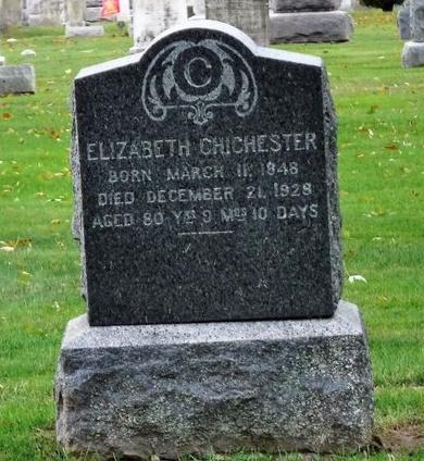 CHICHESTER, ELIZABETH - Suffolk County, New York | ELIZABETH CHICHESTER - New York Gravestone Photos
