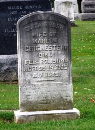 CHICHESTER, ELIZA - Suffolk County, New York | ELIZA CHICHESTER - New York Gravestone Photos
