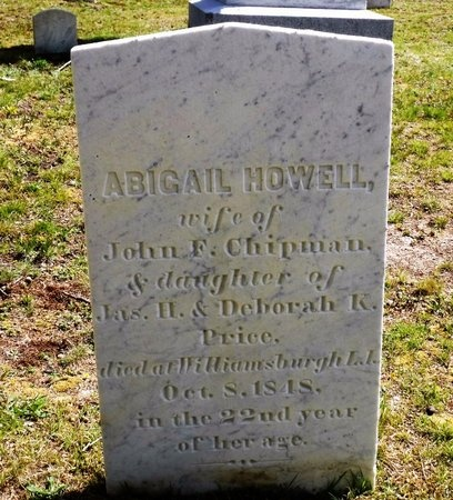 PRICE, ABIGAIL HOWELL - Suffolk County, New York | ABIGAIL HOWELL PRICE - New York Gravestone Photos