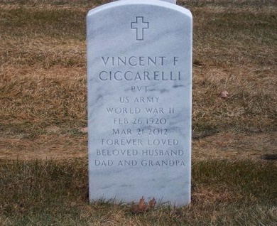 CICCARELLI, VINCENT F - Suffolk County, New York | VINCENT F CICCARELLI - New York Gravestone Photos