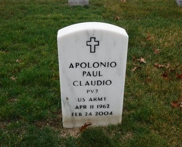 CLAUDIO, APOLONIO PAUL - Suffolk County, New York | APOLONIO PAUL CLAUDIO - New York Gravestone Photos